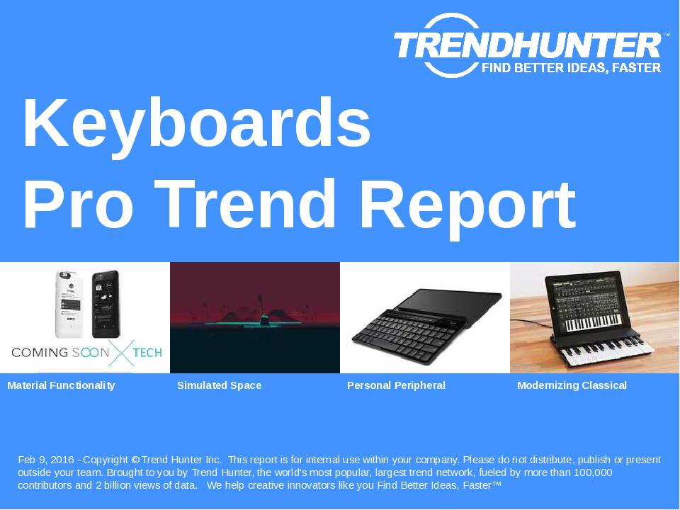 Keyboards Trend Report Research
