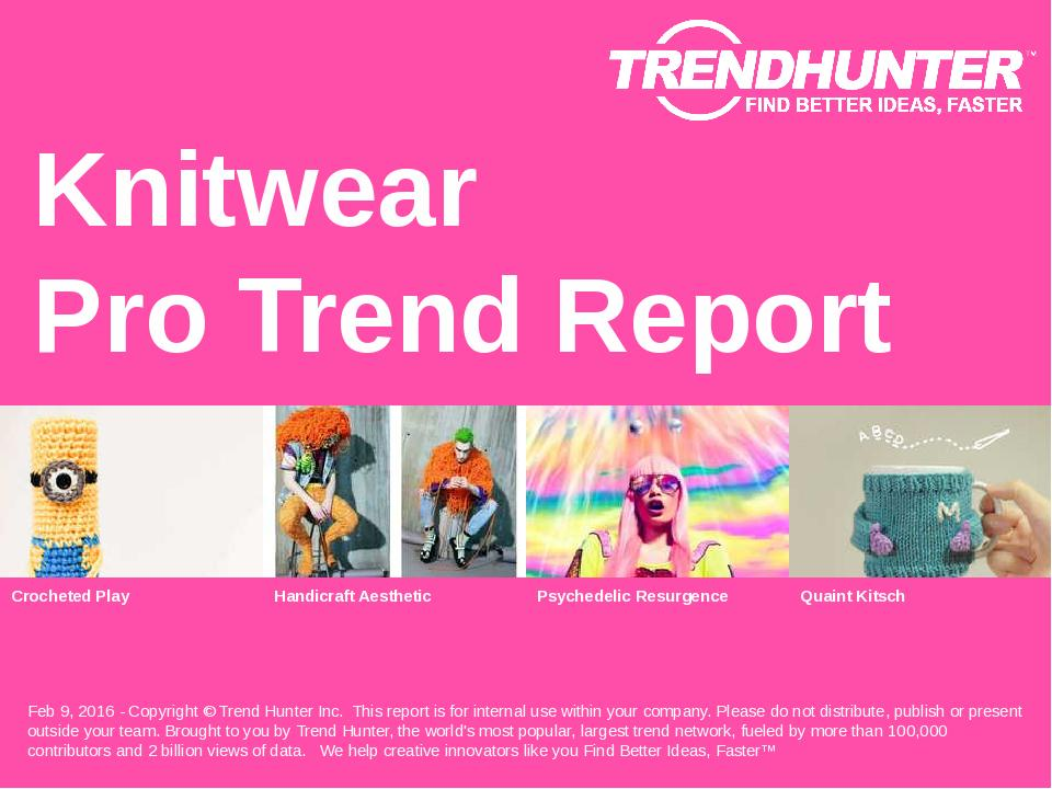 Knitwear Trend Report Research