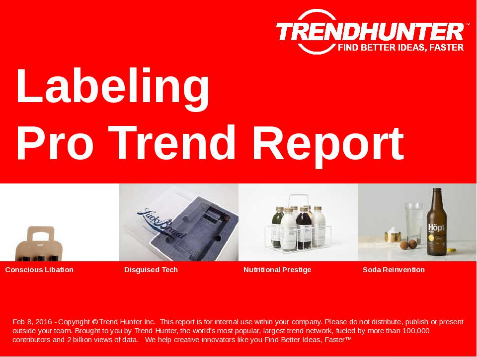 Labeling Trend Report Research