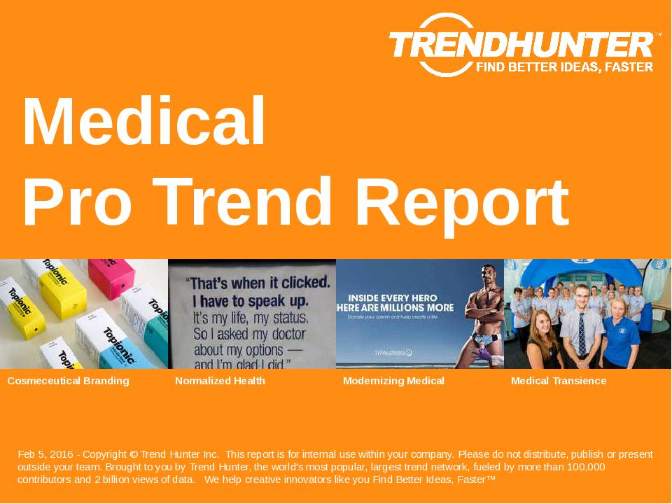 Medical Trend Report Research