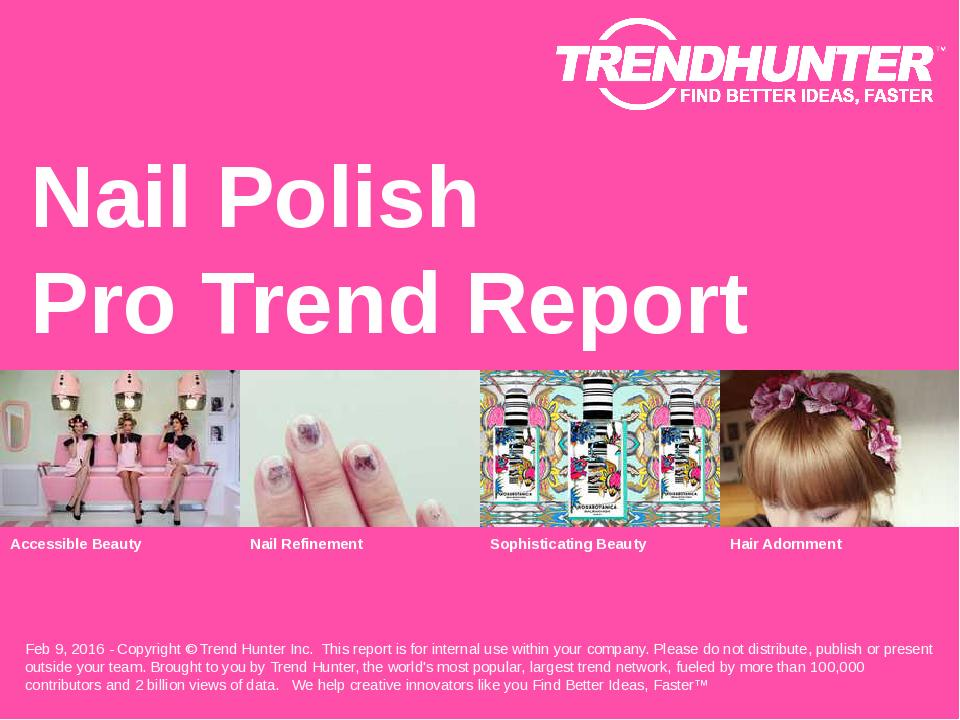 Nail Polish Trend Report Research
