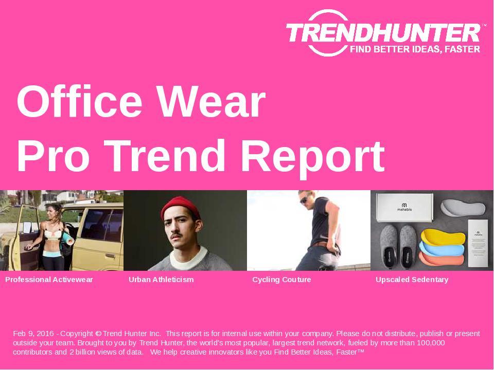 Office Wear Trend Report Research