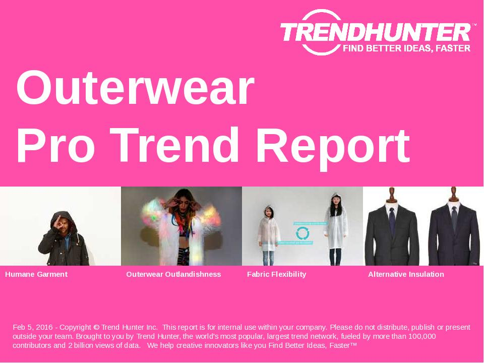 Outerwear Trend Report Research