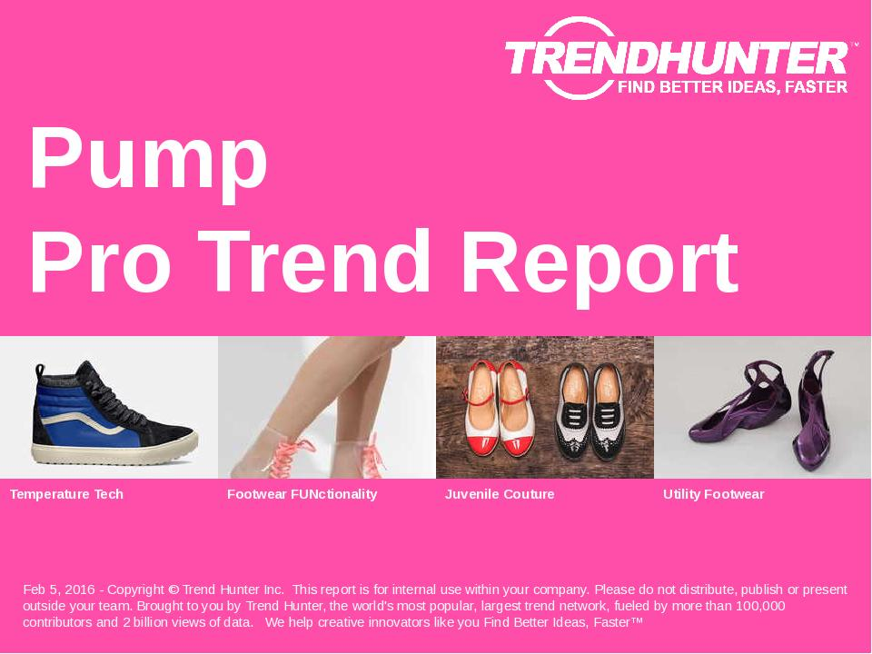 Pump Trend Report Research