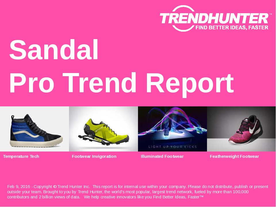 Sandal Trend Report Research
