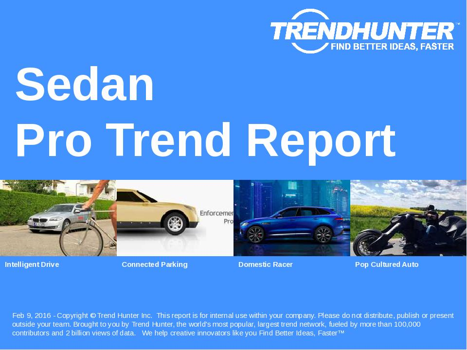 Sedan Trend Report Research