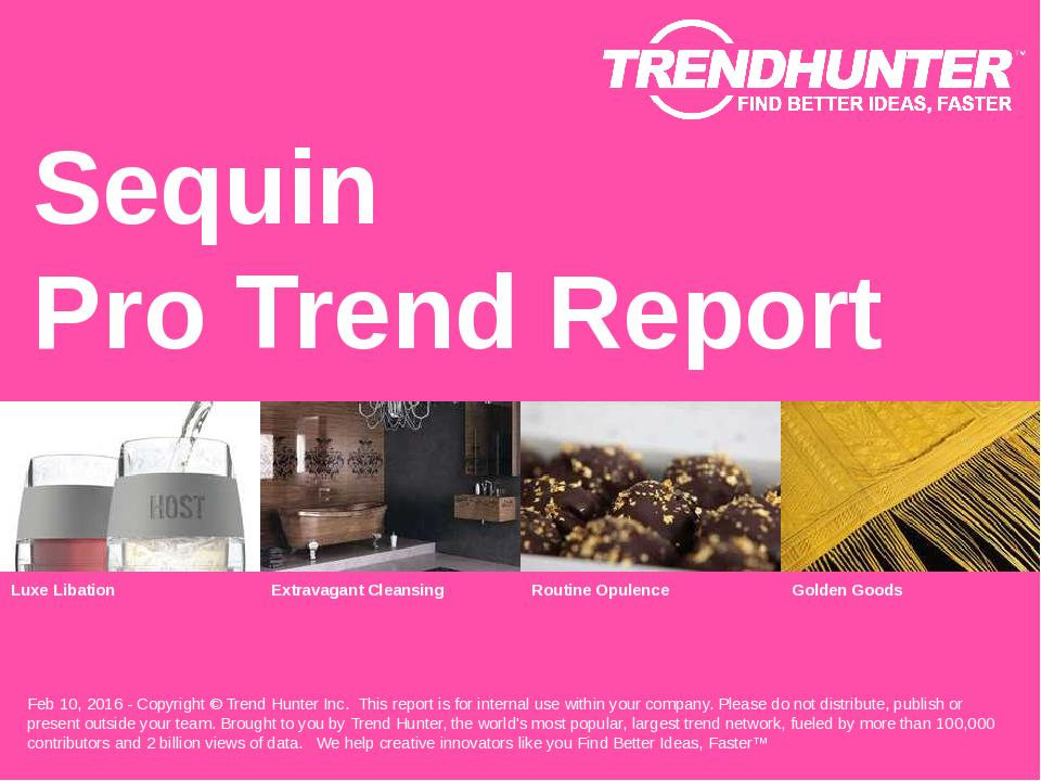 Sequin Trend Report Research