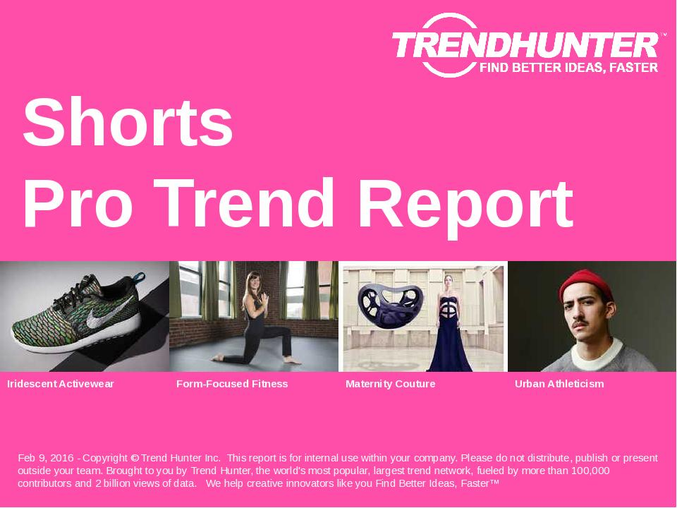 Shorts Trend Report Research
