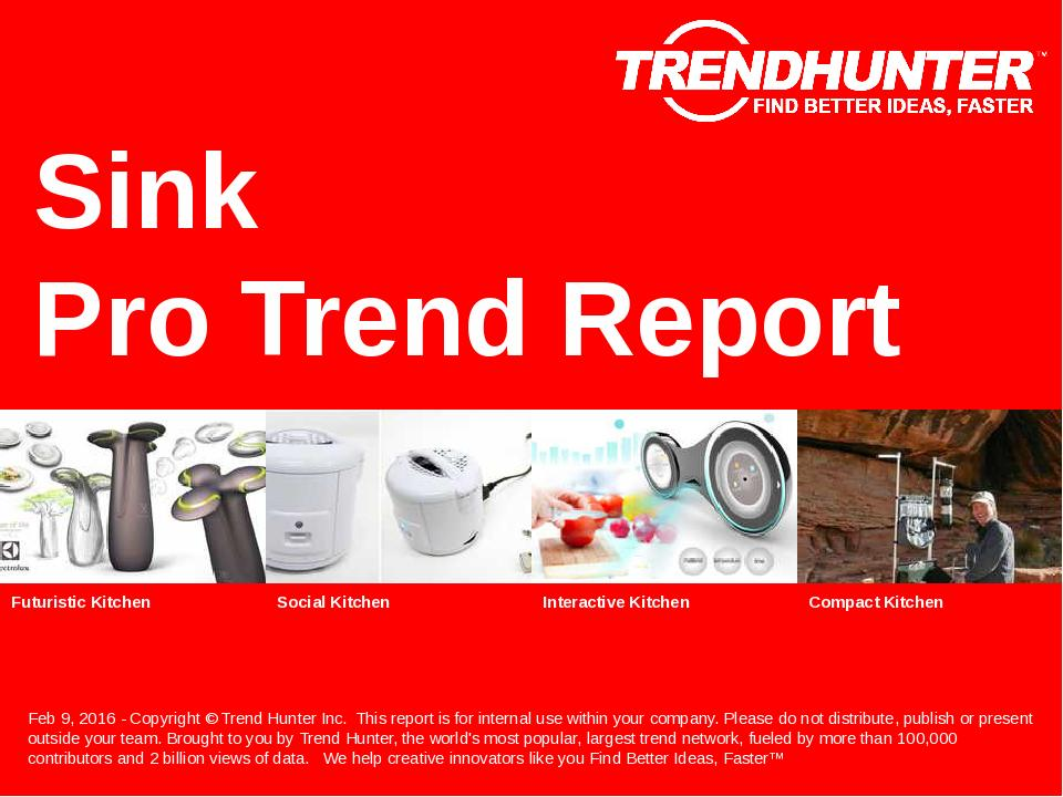 Sink Trend Report Research