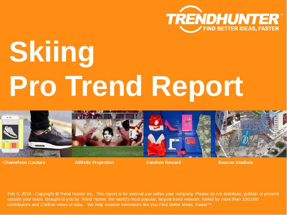 Skiing Trend Report Research