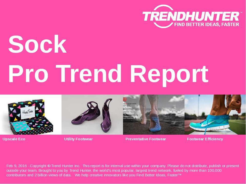 Sock Trend Report Research