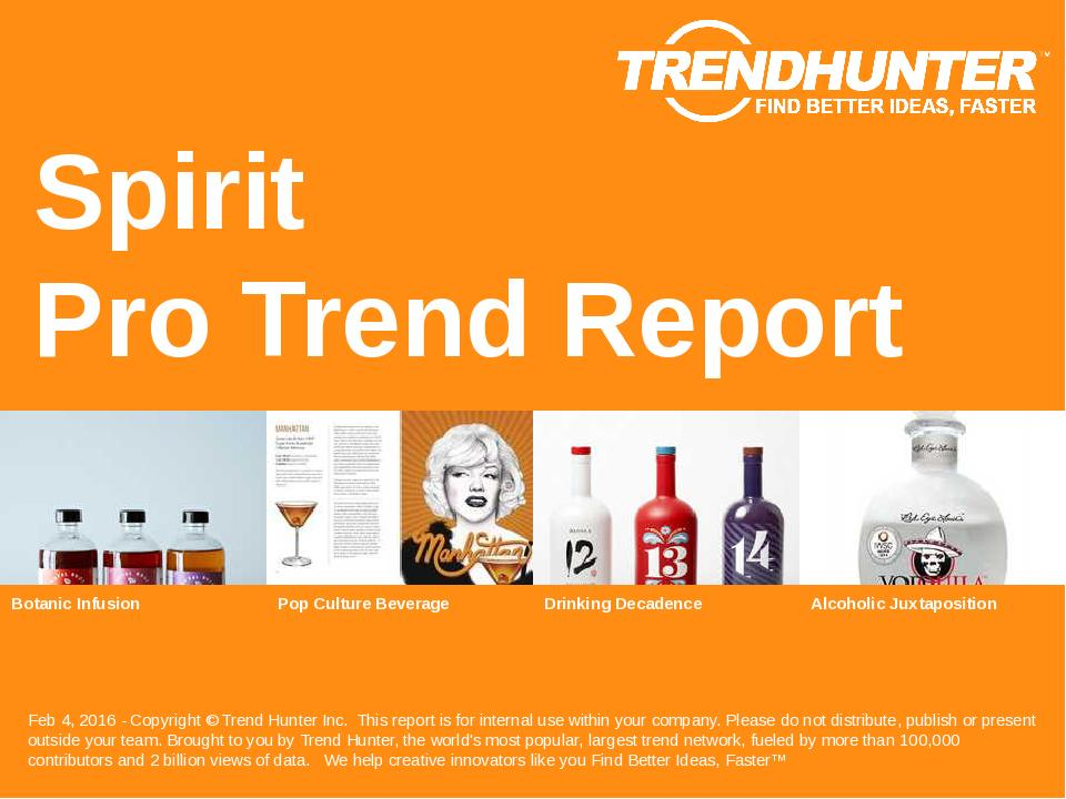 Spirit Trend Report Research
