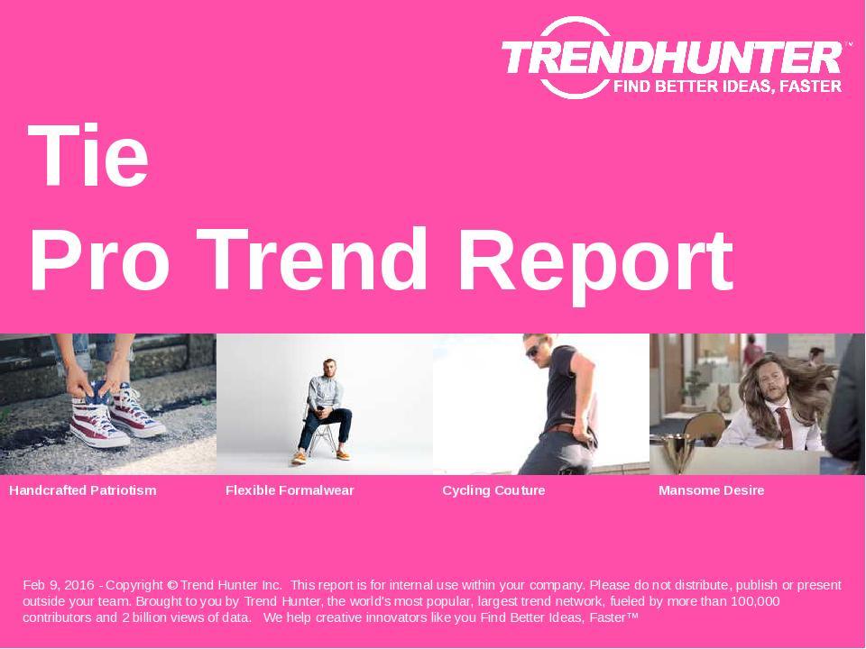 Tie Trend Report Research