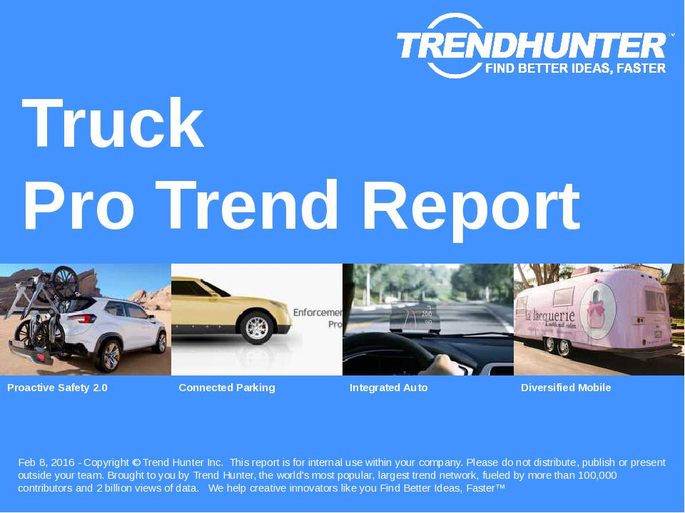 Truck Trend Report Research