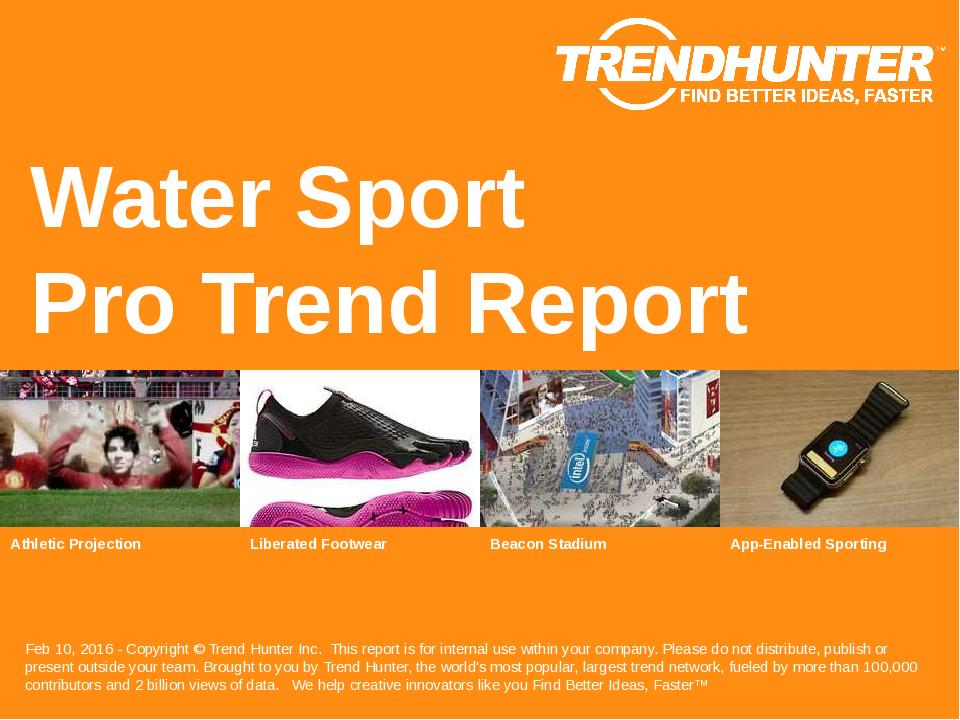 Water Sport Trend Report Research