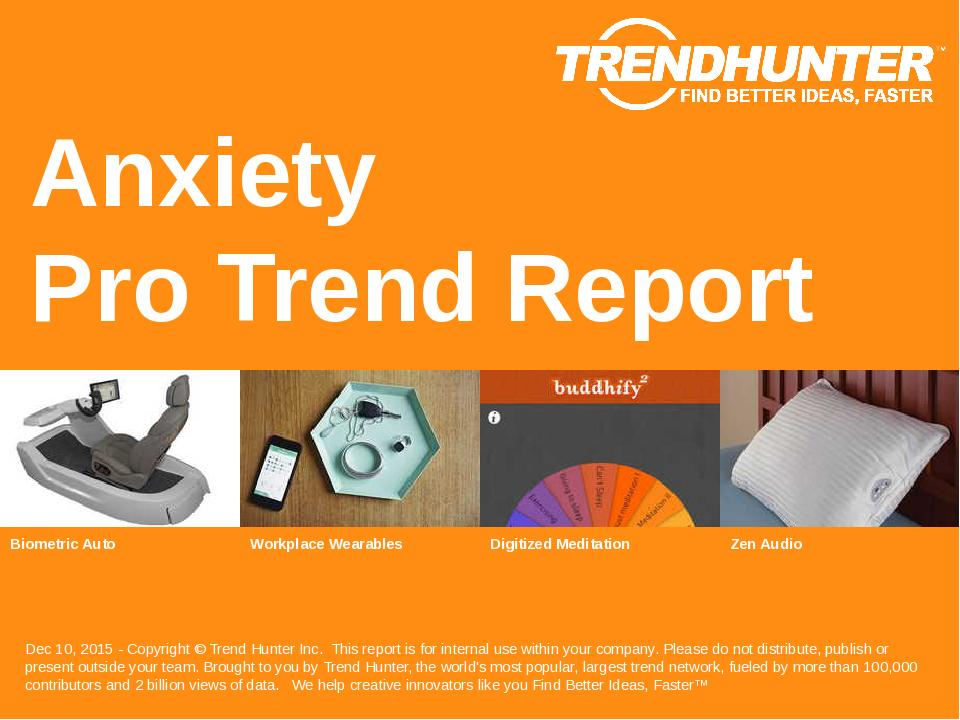 Anxiety Trend Report Research