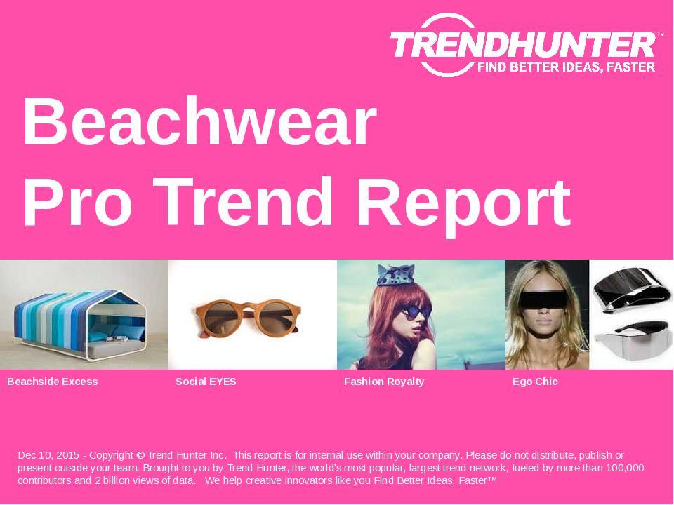 Beachwear Trend Report Research