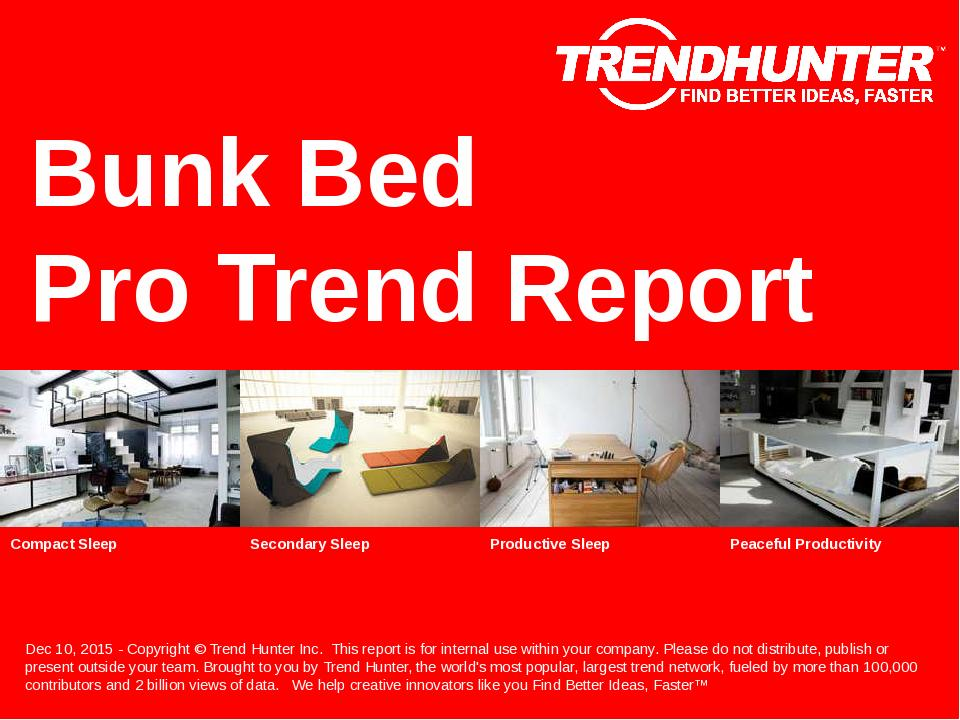 Bunk Bed Trend Report Research