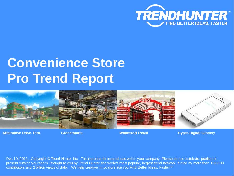 Convenience Store Trend Report Research