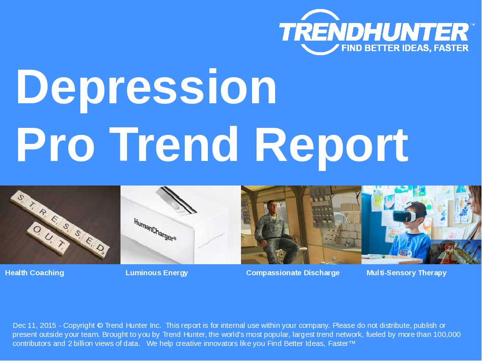 Depression Trend Report Research