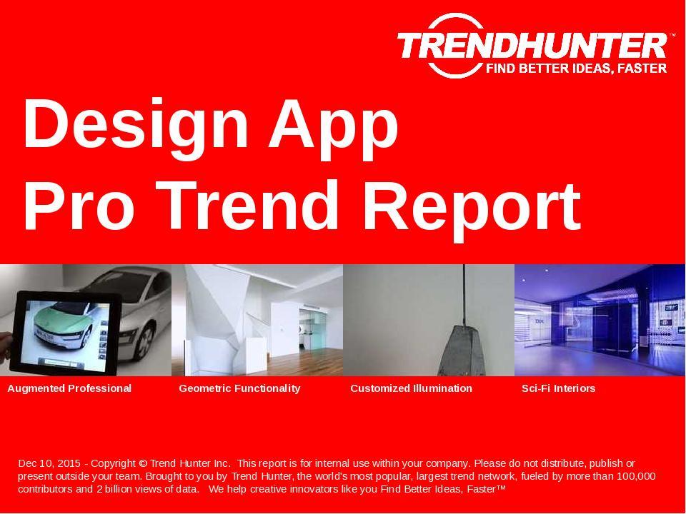Design App Trend Report Research