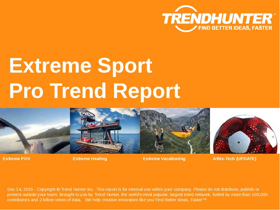 Extreme Sport Trend Report Research