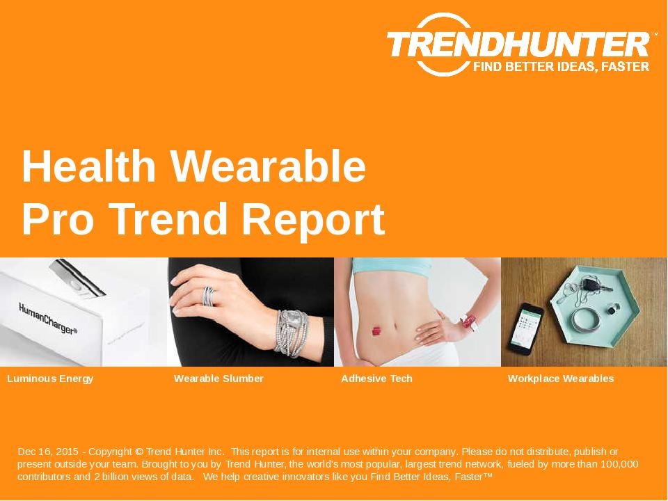 Health Wearable Trend Report Research