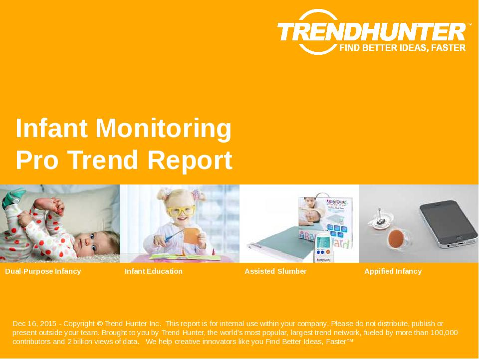 Infant Monitoring Trend Report Research