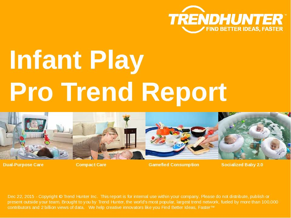 Infant Play Trend Report Research