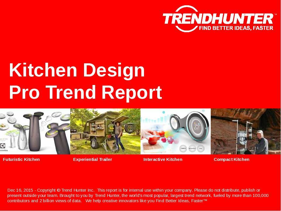 Kitchen Design Trend Report Research