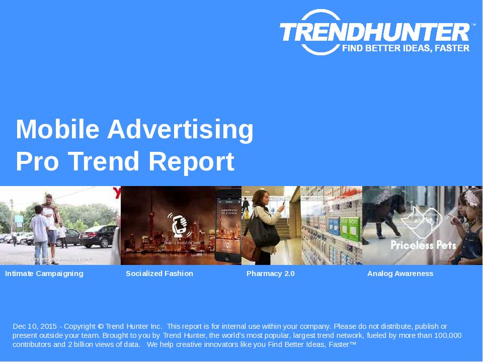 Mobile Advertising Trend Report Research