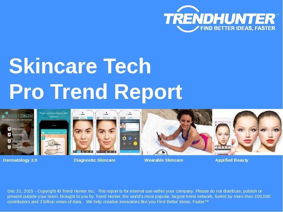 Skincare Tech Trend Report Research