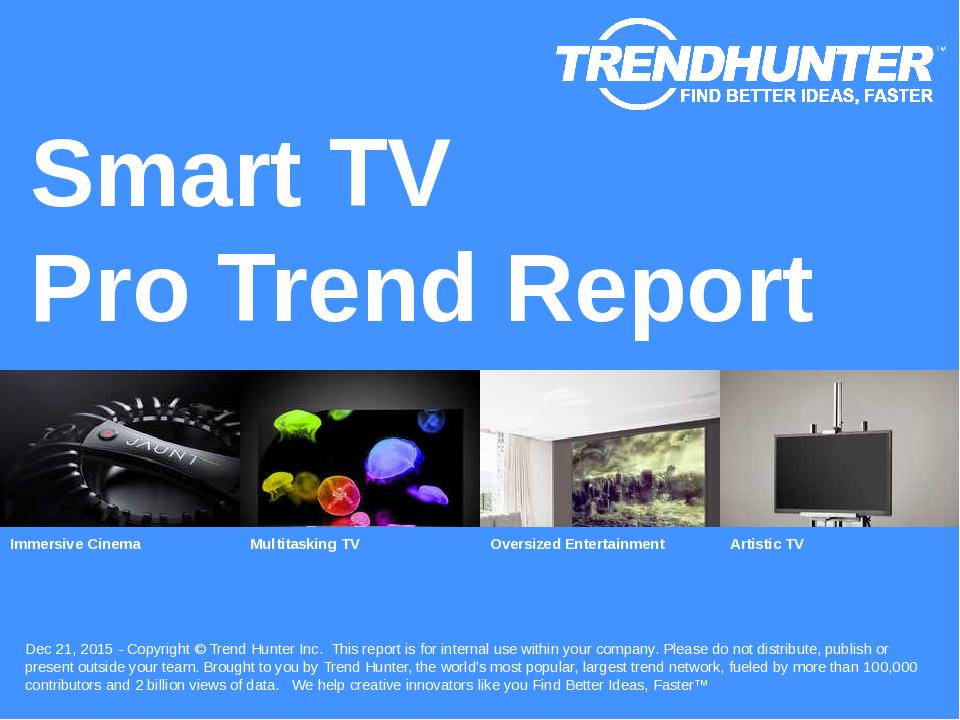 Smart TV Trend Report Research
