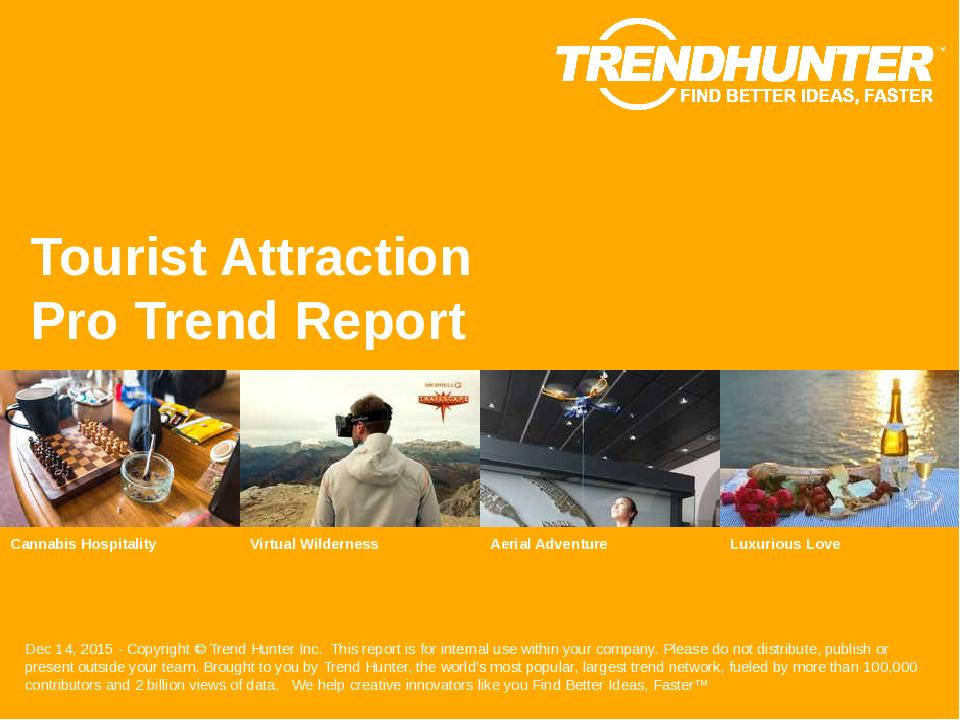 Tourist Attraction Trend Report Research