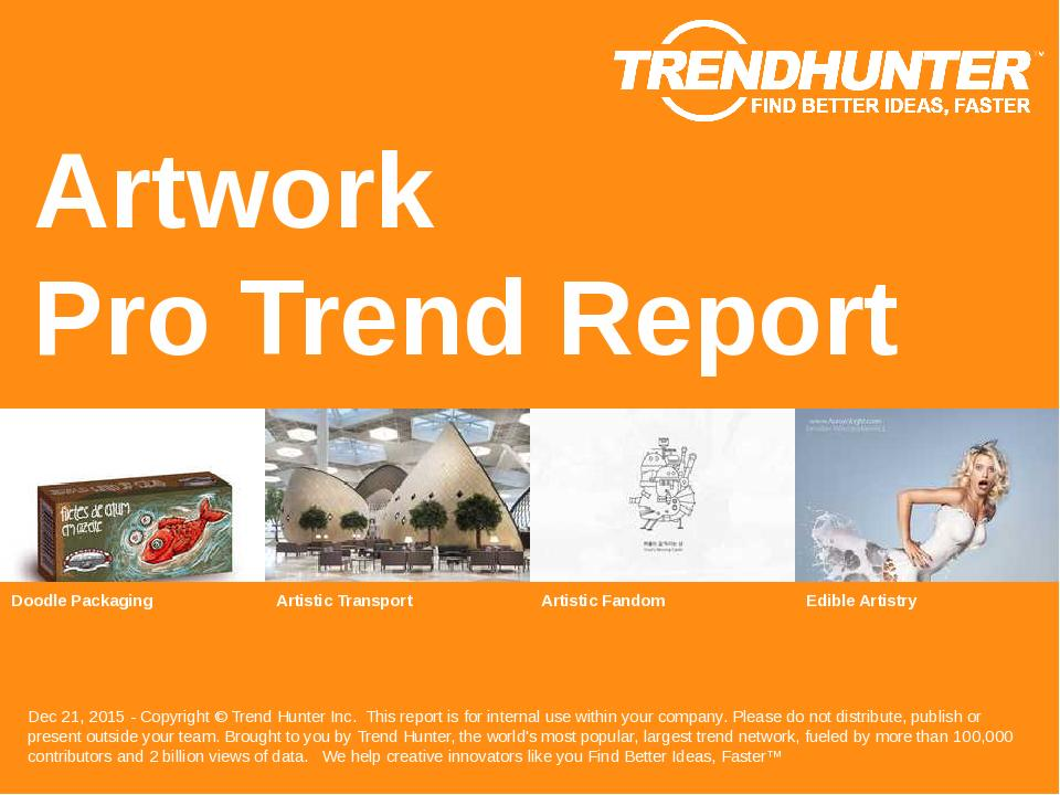 Artwork Trend Report Research