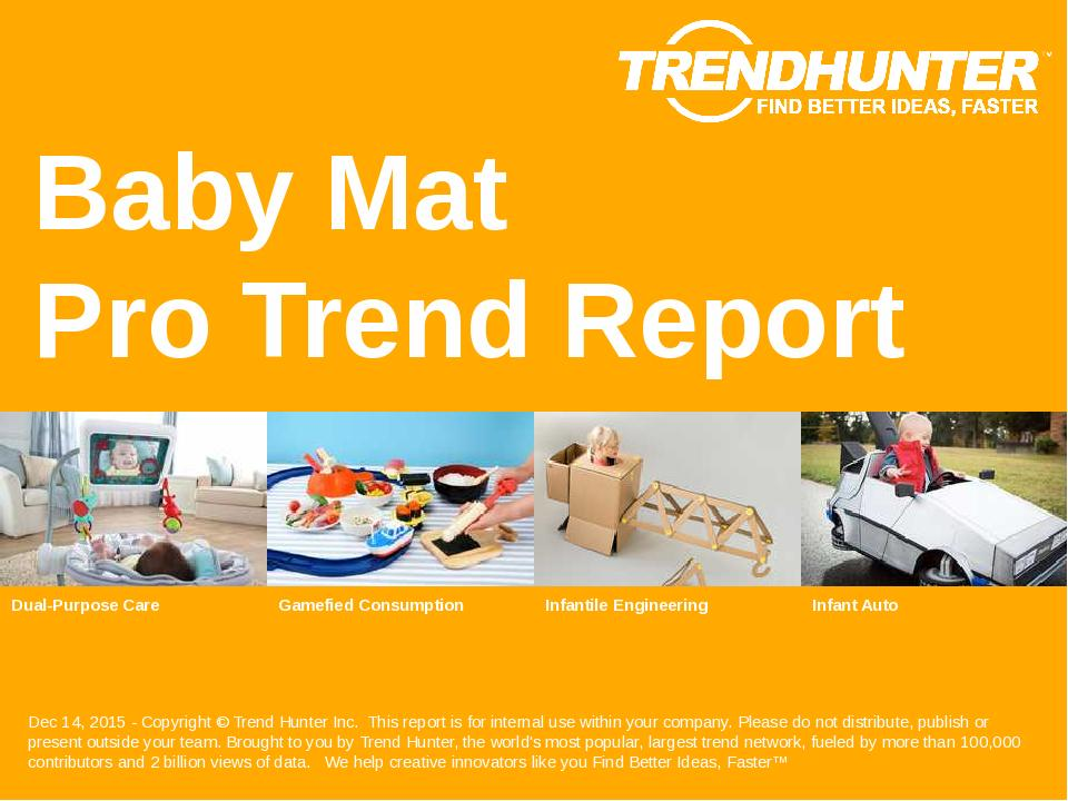 Baby Mat Trend Report Research