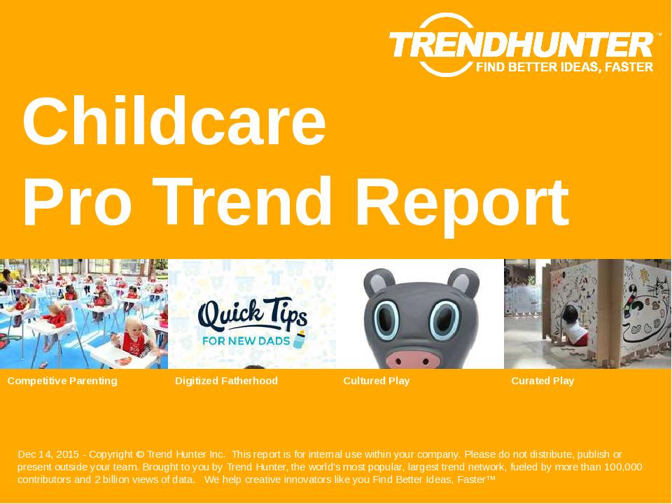Childcare Trend Report Research