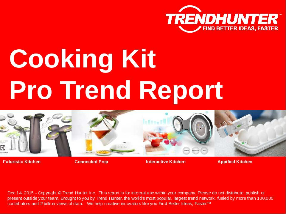 Cooking Kit Trend Report Research