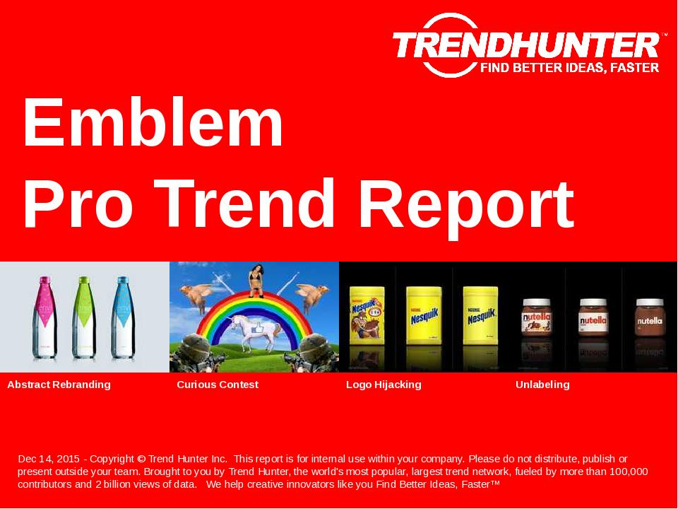 Emblem Trend Report Research