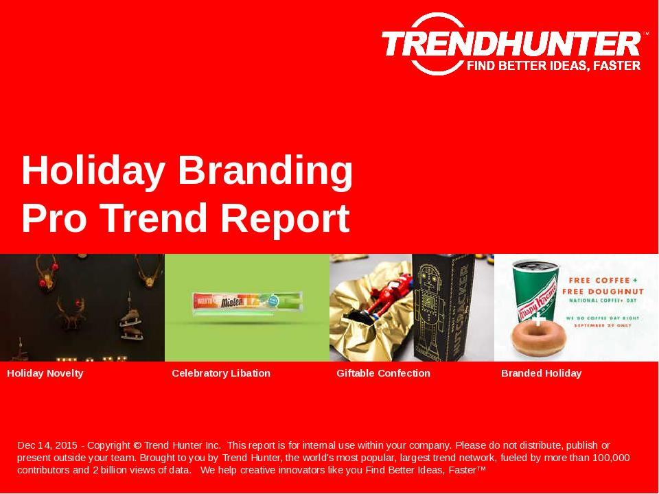 Holiday Branding Trend Report Research
