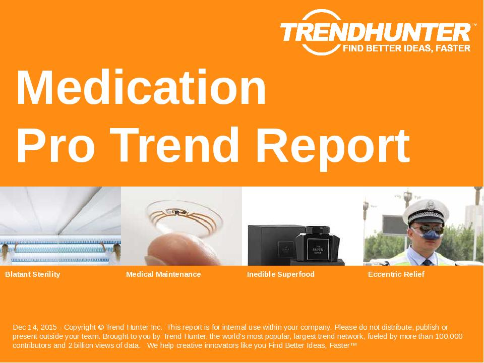 Medication Trend Report Research