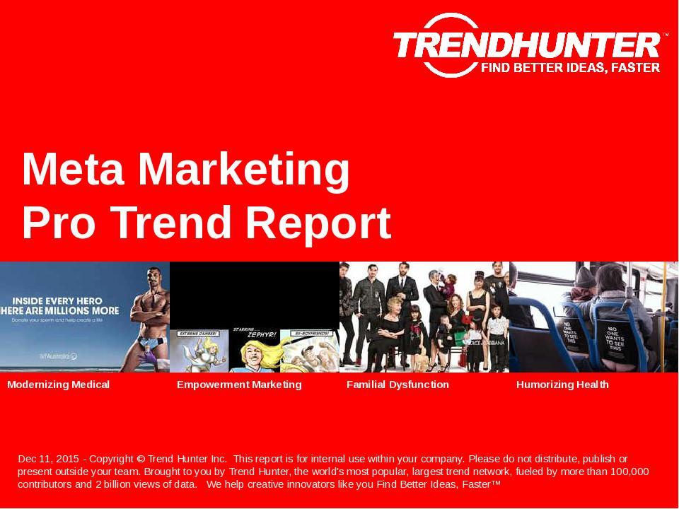Meta Marketing Trend Report Research