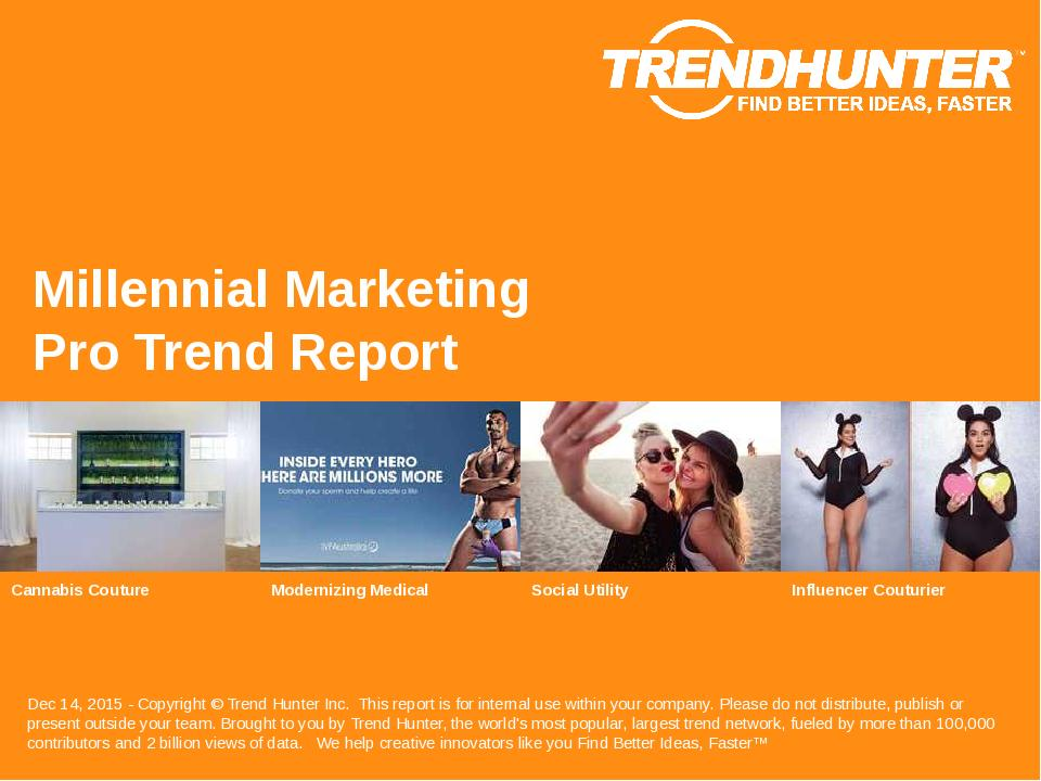 Millennial Marketing Trend Report Research