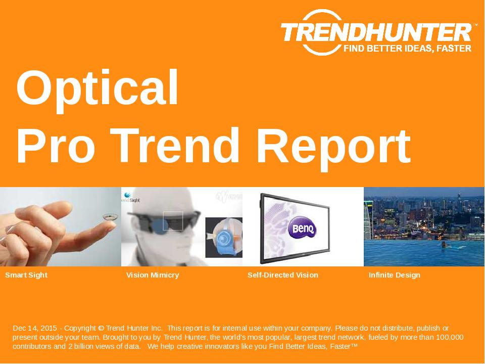 Optical Trend Report Research