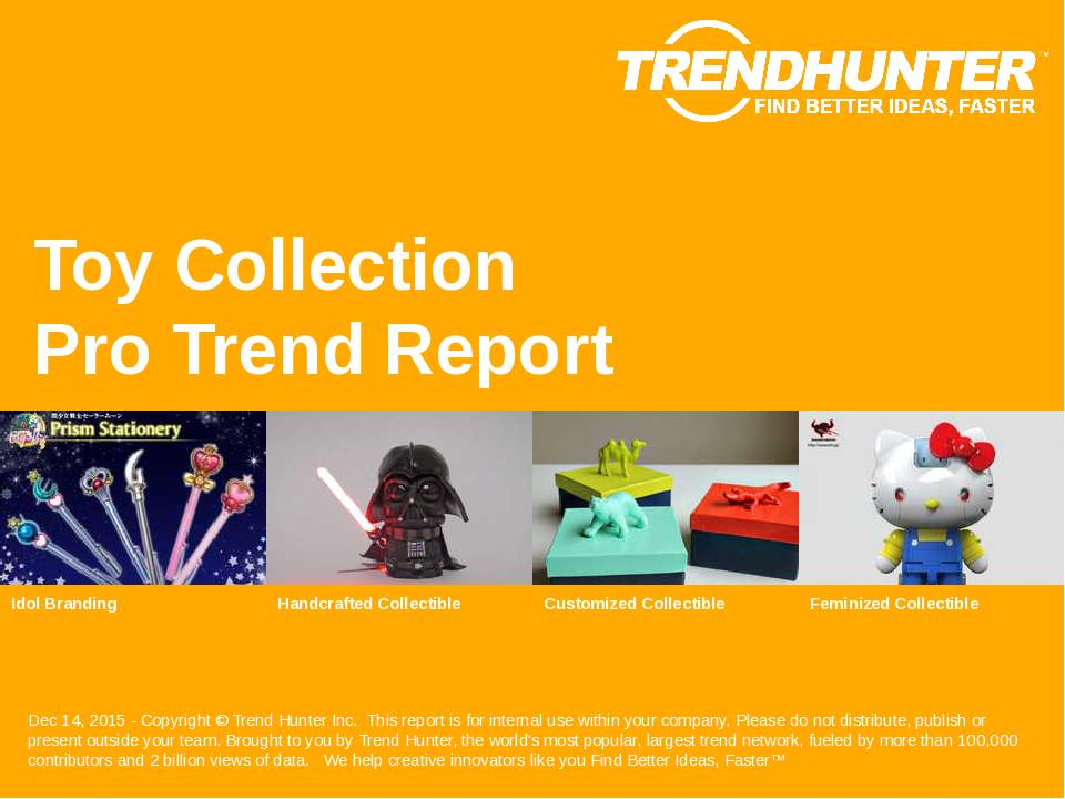 Toy Collection Trend Report Research