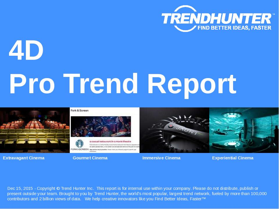 4D Trend Report Research