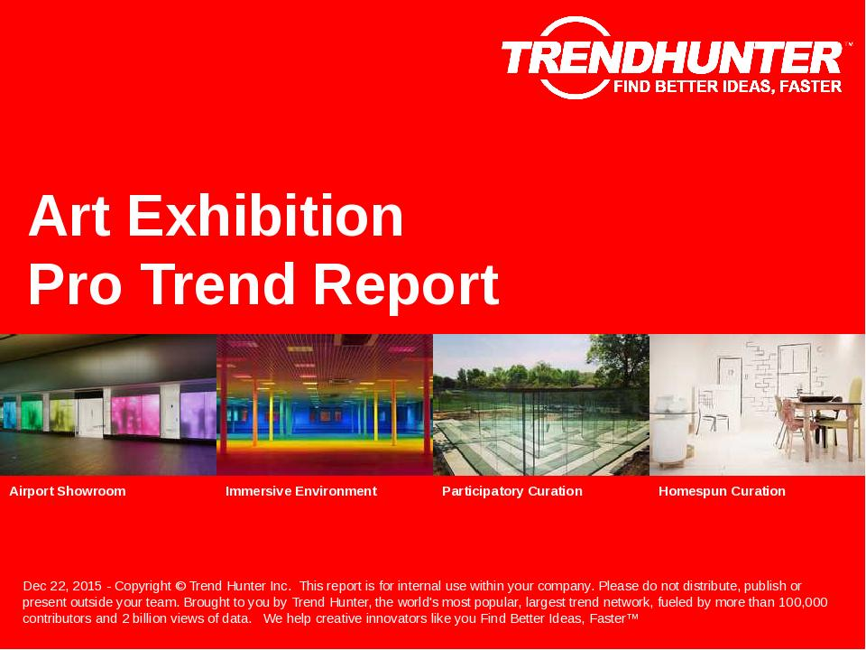 Art Exhibition Trend Report Research