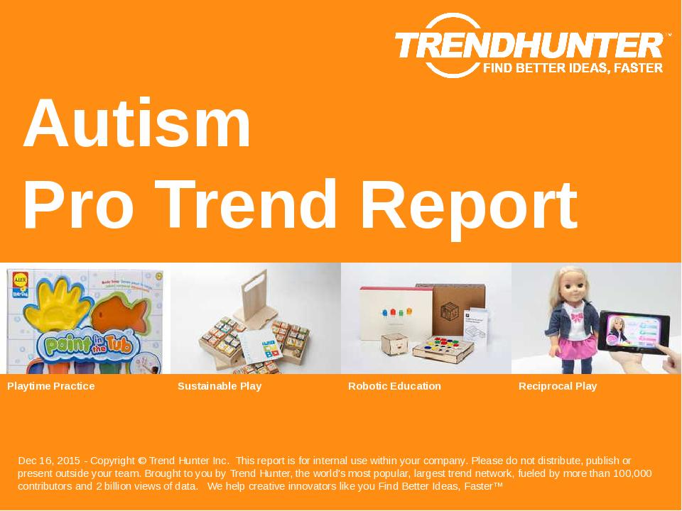 Autism Trend Report Research