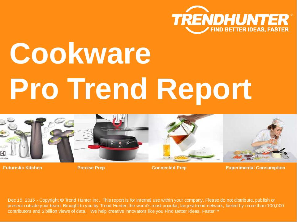 Cookware Trend Report Research