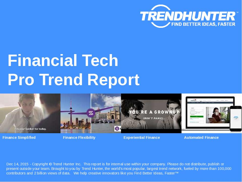 Financial Tech Trend Report Research